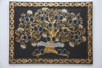 Drzewo genealogiczne w ramie