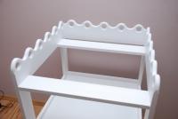 Stolik do przewijania z szufladami