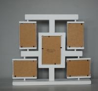 Biała ramka na 5 zdjęć
