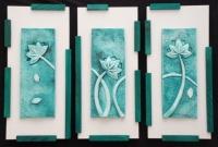 Tryptyk -Kwiaty