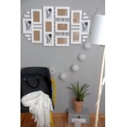 Galeria ścienna -biała-