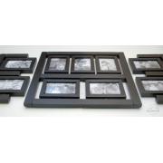 Czarna galeria ścienna futur 11(czarne oprawki)