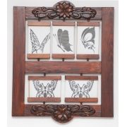 Ramka-Ornament wisząca na 5 zdjęć