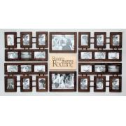 galeria z typografią 26 zdjęć brąz wenge